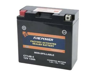 Fire Power Factory Activated Sealed Maintenance Free Battery - CT14B-4