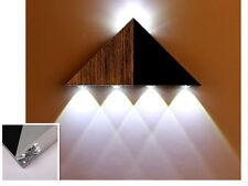 5 x 1W-LED-Moderne-Loft-Dreieckige Wandlampe Flurlampe wohnzimmer Wandleuchte QF