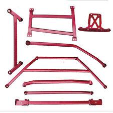 MAK Front Rear Lower Tie Bar Strut 2 Points Stabilizer Brace For Mazda 3
