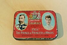 JS Fry Chocolate Tin - visit of Prince and Princess of Wales to Stockport 1908
