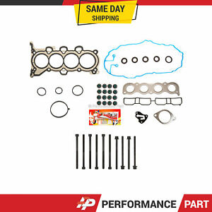 Head Gasket Bolts Set for 2011-2015 Hyundai Elantra 12-13 Kia Soul L4 2.0 1.8