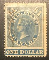 CANADA FB16 H OG FIRST BILL REVENUE STAMPS
