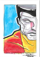 Marvel PSC Personal Sketch Card Jim kyle Colossus X-Men Archives