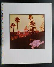 Vintage Eagles Hotel California Print Uncut Pre-Production Proof Sheet