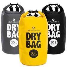 100% wasserdichte Tasche / Drybag aus PVC - Seesack Packsack ab 2Liter - 40Liter