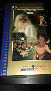 GAVINO LEDDA - YBRIS -VHS Videocassetta nuova sigillata-L'Unione Sarda