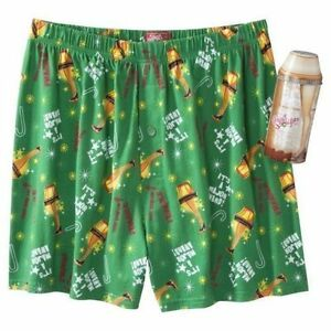 New A Christmas Story Leg Lamp Boxers Brief Underwear Shorts Collectible Tin