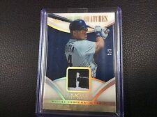 2014 Panini Immaculate Swatches Game Worn Logo Letter Patch Miguel Cabrera 3/3