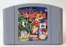 Nintendo 64 N64 Banjo Kazooie Banjo-Kazooie Video Game Cartridge