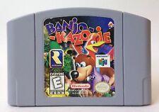 Nintendo 64 N64 Banjo Kazooie Banjo-Kazooie Video Game Cartridge