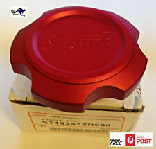ALLOY OIL FILLER CAP IMPORT JDM Sti STAMPED BILLET SUIT SUBARU -M42 x 4.5 THREAD