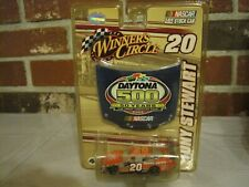 2008 NASCAR WINNER'S CIRCLE #20 TONY STEWART DAYTONA 500 1:64 SCALE DIECAST CAR