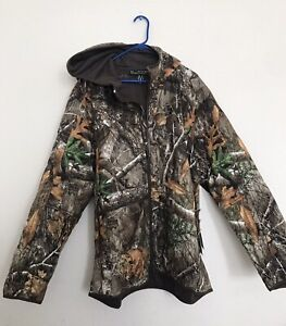 Under Armour Men Size XXL Brow Tine Hunting Jacket 1316741 991 Realtree
