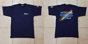 Vintage Benetton Formula 1 Racing Team Renault Jersey Size M Vintage