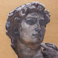 Davide Michelangelo - Quadro Contemporanea Bellissimo /olio su tela Juta