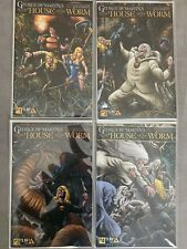 Avatar Comics IN THE HOUSE OF THE WORM #1-4 GEORGE R.R. MARTIN COMIC COMPLETE