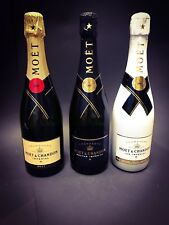 Moet Chandon Imperial Champagner Set 3x 0,75l Flasche 12% Vol Ice Nectar