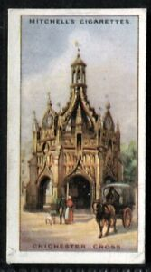 Tobacco Card, Mitchell, FAMOUS CROSSES, 1923, Chichester Cross, #12