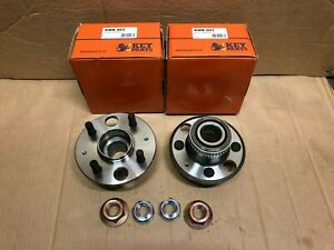 x2 for Rover StreetWise 2003-2005 MG ZR ZS REAR Wheel Bearing Kits PAIR