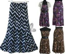 Polyester Hand-wash Only Plus Size Skirts for Women
