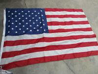 "VTG. Annin 50 Star U.S. American Flag 100% Nylon Made in USA 46"" x 70"" GUC"