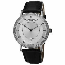 Frederique Constant Men's Slimline Classics Leather Strap Watch FC306MC4S36
