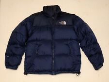The North Face Nuptse 700 Down Puffer Jacket Cost Men's Size Large Blue Packable