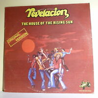 "33T REVELACION Vinyl LP 12"" THE HOUSE OF THE RISING SUN - CROCOS 733402 F Rèduit"