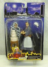 Vintage 2000 X-Toys Series 1 SNL Samurai Baker Action Figure John Belushi