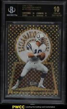1998 Ultra Exclamation Points Peyton Manning ROOKIE RC #5 BGS 10 BLACK LABEL