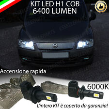 KIT LED H1 FIAT MULTIPLA MK2 ABBAGLIANTE ACCENSIONE RAPIDA 6400 LM XENON
