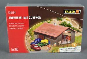FALLER 130194 [H0, Bausatz] - Brennerei mit Zubehör - NEUWARE!