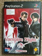 PS2 Vampire Night Rare Spanish Import