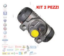 KIT 2 CILINDRETTO FRENO POSTERIORE FIAT PANDA 169 PUNTO 176 LANCIA Y FHW210