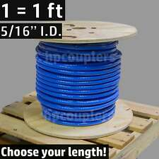 "5/16"" ID FlexFab 5526 Blue Silicone Heater Hose 8mm 350F Radiator Coolant .31"""