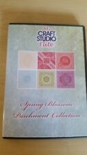My Craft Studio Elite Spring Blossom Parchment Collection Paper Craft CD-ROM