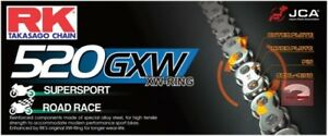 RK GB520GXW Ultra High Performance Race XW-Ring Gold Motorcycle Chain 520GXW-120