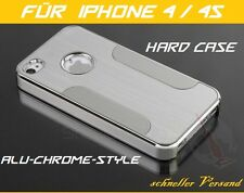 Apple iPhone 4 4G 4S Custodia Rigida,Alluminio Bumper,Custodia Protettiva,