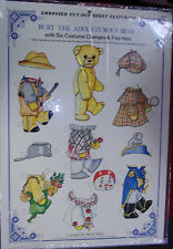 Burt the Adventurous Bear Paper Doll (1988) Merrimack (unused) Hong Kong