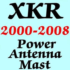 JAGUAR XKR POWER ANTENNA MAST 2000-2008 Brand New Stainless Steel + Instructions