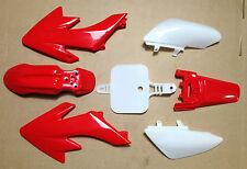 NEW Red Plastic Kit Honda CRF50 XR50 CRF XR 50 SDG SSR Pro Pit Bike 70 110 125
