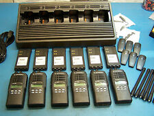 6 Motorola HT1250 VHF 136-174MH 128 Channel Mint Condition