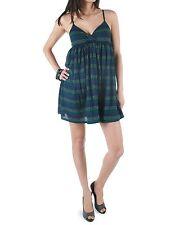 VANS Damen Kleid Bon Bon Dress Deep Blue 100% Baumwolle Größe XS  EU34