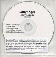 (AR76) Ladyfinger, Heavy Hands - DJ CD