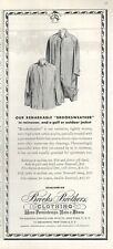 1962 Brooks Brothers Men Fashion Rainwear PRINT AD