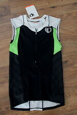 NEW PEARL IZUMI lime green black ELITE cycling bicycling Jersey shirt top pocket