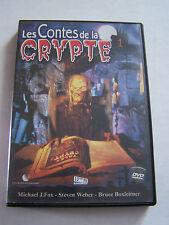 DVD LES CONTES DE LA CRYPTE , SANG POUR SANG FRISSON . 90 MN . vol 1 .