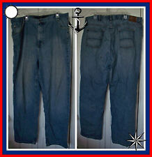 44x32 NAUTICA Relaxed Fit DISTRESSED Medium Blue JEANS Casual J Class Long Pants
