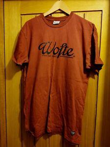 ** Wofte T-shirt Burgundy Size Large ** Carp Fishing