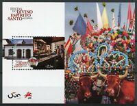 Portugal Cultures Stamps 2020 MNH Festivals Divino Espirito Santo Azores 1v M/S